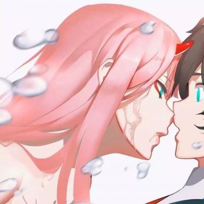 一看就知道是情侣头像二次元 情侣头像,微甜图片