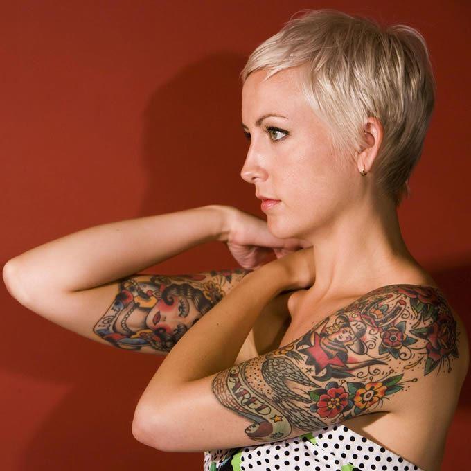 霸气有个性纹身超拽魅力微