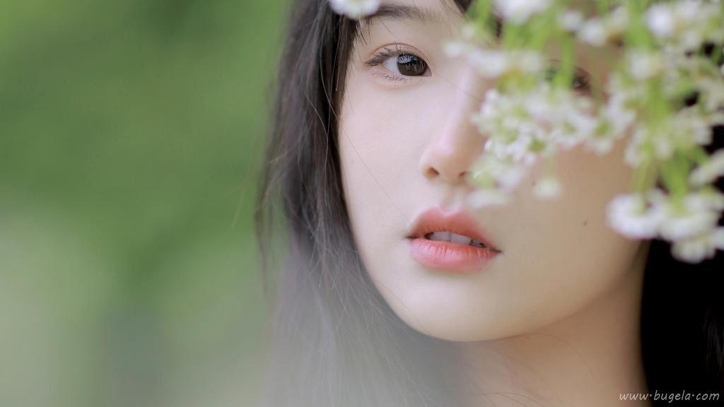 森系氧气美女纯美写真图片