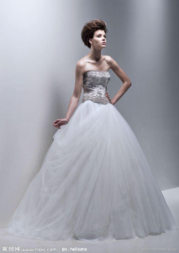 高贵大气的婚纱唯美大全图片