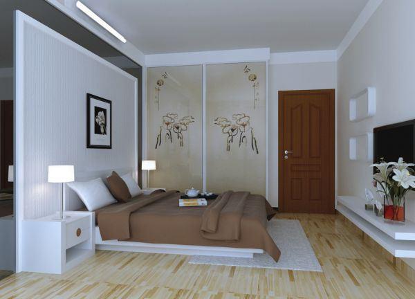 卧室简约大气欧美风格唯