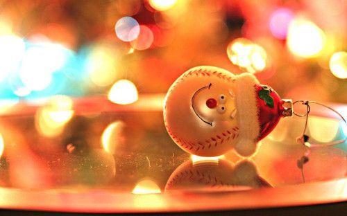 高清圣诞节的意境美图唯美