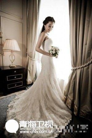 时尚大气的婚纱大全图片