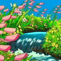 唯美日系风,像极了宫崎骏的夏天_微信头像大全图片