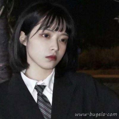 韩系女生微信清冷距离感