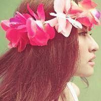 头上带花的女生头像清晰版_微信头像大全图片