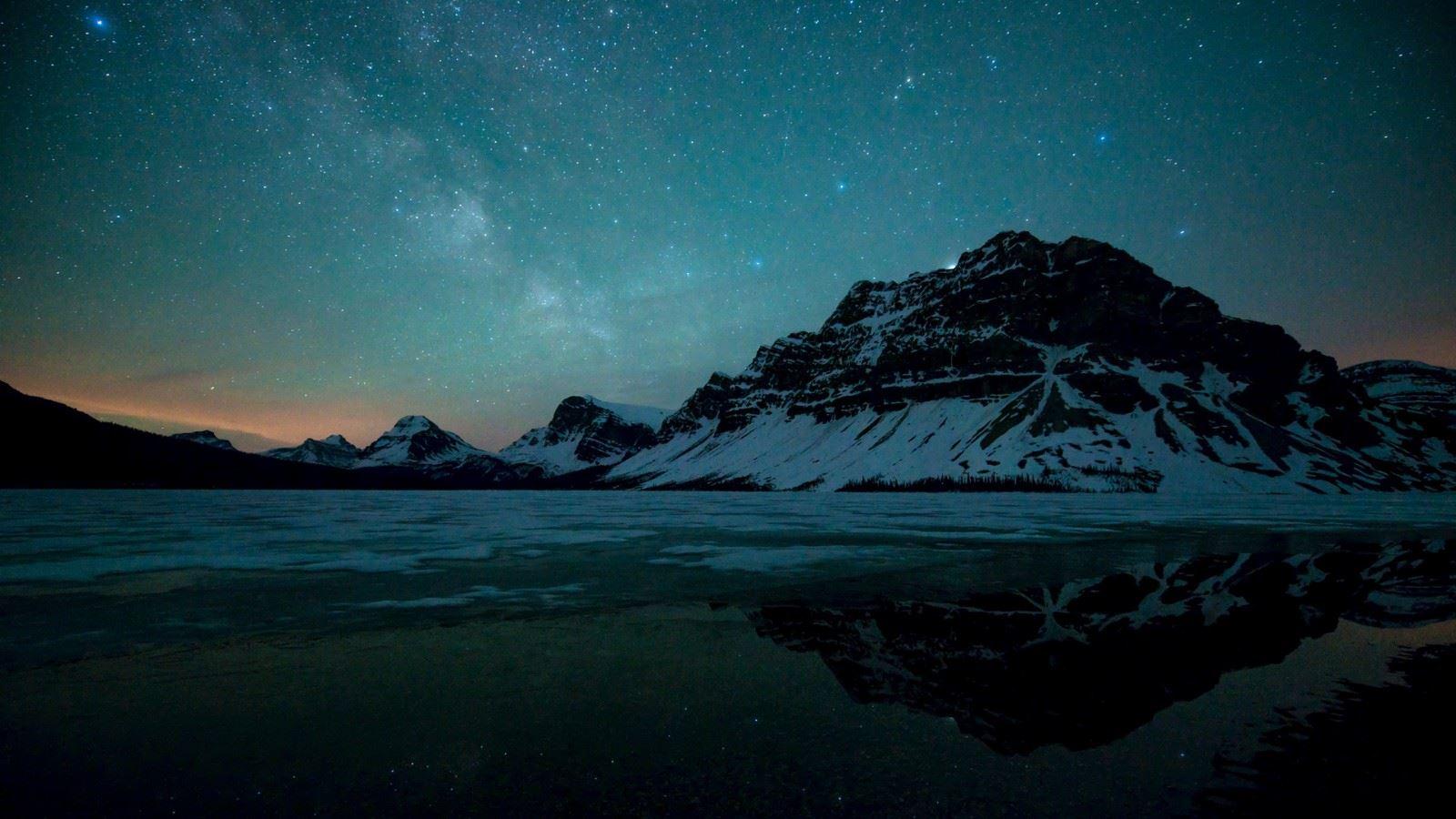国家公园夜晚星光璀璨梦