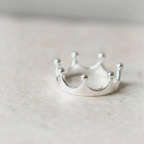 创意皇冠唯美戒指个性唯
