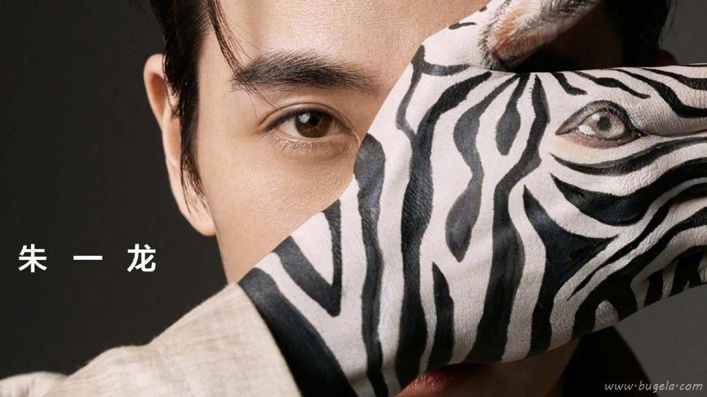 朱一龙斑马手绘创意时尚
